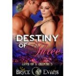 Destiny of Three by Byrce Evans